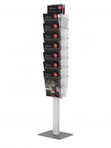 Składany stojsk dwustronny na ulotki 14 x A4  Art 368K