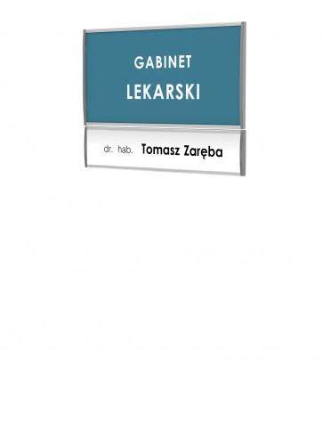 Tabliczka - zestaw profili informacyjnych 72x147mm  Art 074