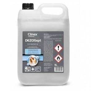 Żel do dezynfekcji rąk CLINEX DEZOSEPT 5L, Wirusobójczy