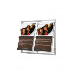 Kieszeń na ramce 2 x A4 szer. 23cm  Art 2332x2