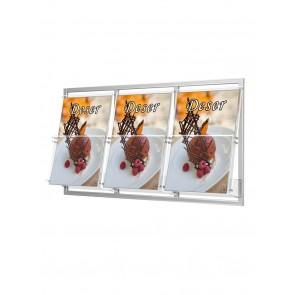 Kieszeń na ramce 3 x A4 szer. 23cm Art 2332x3
