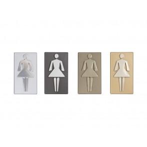 Oznaczenie toalety dla pań  Art 568
