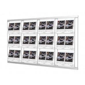 Modułowy zestaw 12 kieszeni A4 poziomo 4x3  Art 214V3