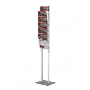 Składany stojak na ulotki 5 x A4  art 366 v2