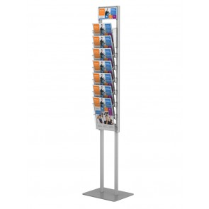 Składany stojak / prezenter na ulotki 7 x A4 art 374 v2