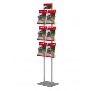 Składany stojak na ulotki 4 kieszenie A4 pionowo art 288v4
